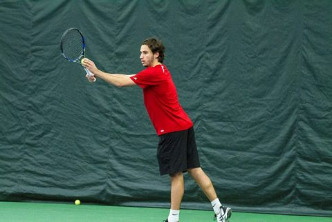 Austin Peay Men's Tennis falls to IUPUI Saturday, 4-3. (APSU Sports Information)