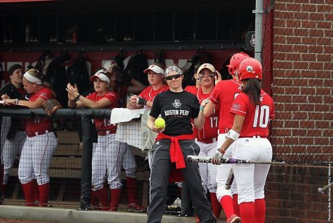 Austin Peay Softball has Tuesday game against Middle Tennessee postponed due to rain threat. (APSU Sports Information)