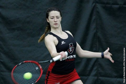 Austin Peay Women's Tennis beats Lindsey Wilson Saturday, 4-3. (APSU Sports Information)
