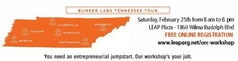 Bunker Labs Tennessee Entrepreneur Workshop tour