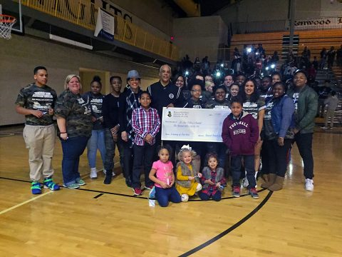 Kenwood High School's raises $1,200 for St. Jude Children's hospital in Josh Artis' memory.