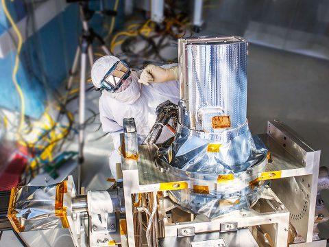 NASA's Stratospheric Aerosol and Gas Experiment III (SAGE III) instrument. (NASA)