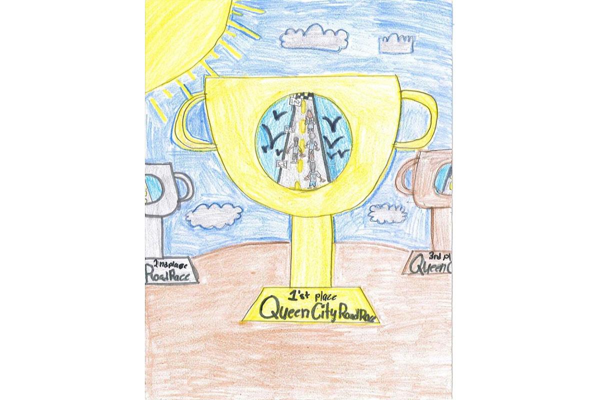T shirt design on queen city - Shaniya Mosley S Winning Artwork
