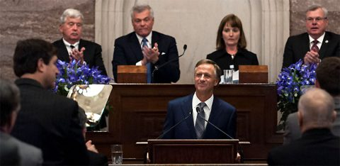 Tennessee Governor Bill Haslam delivers State of the State Address