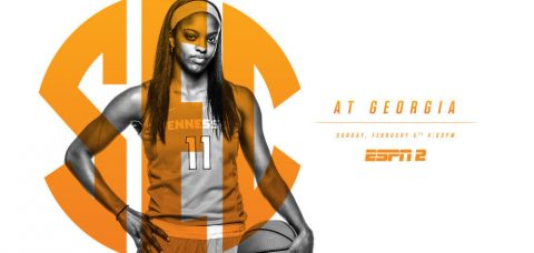 Tennessee Women's Basketball heads to Athens to take on the Georgia Lady Bulldogs Sunday afternoon. (Tennessee Athletic Department)