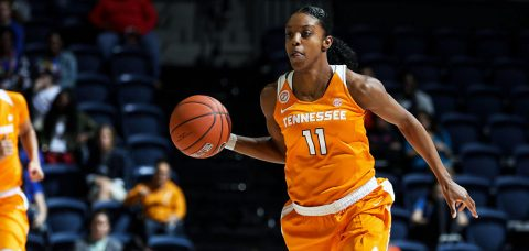 Tennessee Women's Basketball drops double overtime game at Georgia Sunday, 81-78. (Tennessee Athletics Department)