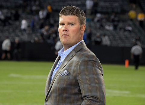 Tennessee Titans general manager Jon Robinson. (Kirby Lee-USA TODAY Sports)