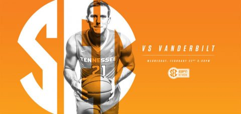 The Tennessee Vols and Vanderbilt Commodores tip off at 5:30pm CT on Wednesday night on SEC Network. (Tennessee Athletics Department)