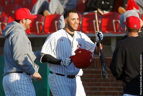 Austin Peay Baseball loses at Mercer Bears Friday afternoon at Raymond C. Hand Park. (APSU Sports Information)