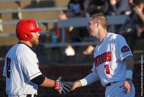Austin Peay Baseball blasts Mercer Bears 14-4 Saturday afternoon at Raymond C. Hand Park. (APSU Sports Information)