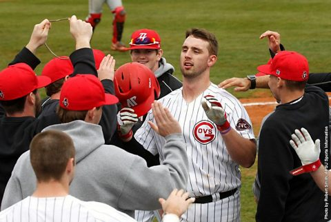 Austin Peay Baseball drops Sunday afternoon game to Mercer at Raymond C. Hand Park. (APSU Sports Information)