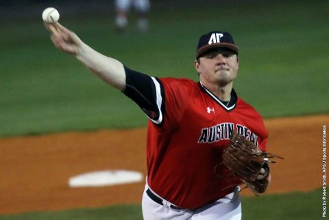 Austin Peay Baseball starts OVC season with 8-4 win over Jacksonville State at Raymond C. Hand Park. (APSU Sports Information)