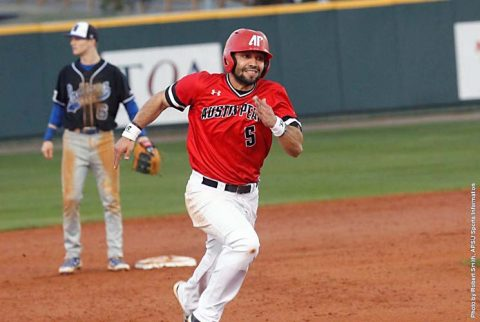 Austin Peay Baseball senior Alex Robles led the Governors with three hits Wednesday night against the Middle Tennessee Blue Raiders. (APSU Sports Information)