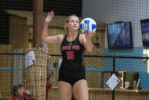 Austin Peay Beach Volleyball finishes strong Saturday at Governors Beach Duals in Franklin. (APSU Sports Information)