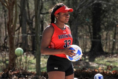 Austin Peay Beach Volleyball drops two matches at Badger Beach Bash, Saturday. (APSU Sports Information)
