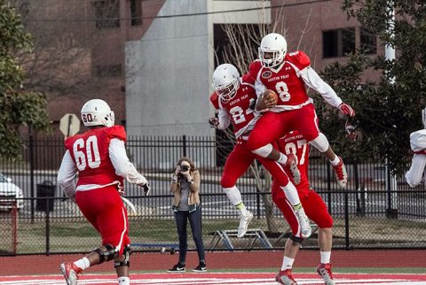 Austin Peay Football held it's spring Red and White Scrimmage Saturday at Fortera Stadium. (APSU Sports Information)