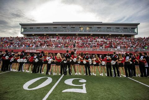 2017 Austin Peay Football Schedule announced. (APSU Sports Information)