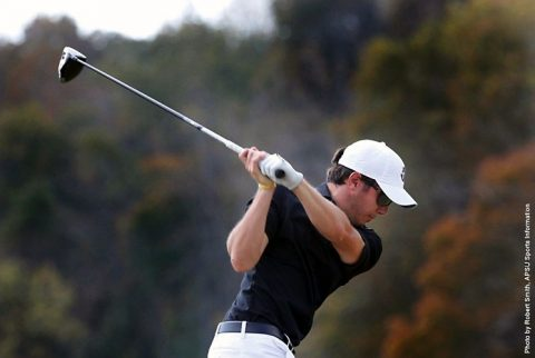 Austin Peay Men's Golf sits in tenth place at at Sacramento State Invitational. (APSU Sports Information)