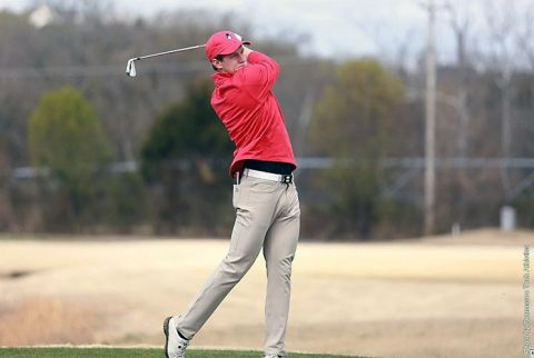 Austin Peay Men' Golf in 4th place heading into final round at t Bobby Nichols Intercollegiate in Sevierville. (APSU Sports Information)