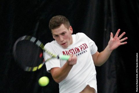Austin Peay Men's Tennis falls to West Florida 9-0. (APSU Sports Information)