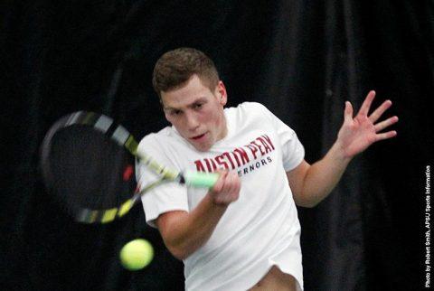 Austin Peay Men's Tennis falls to West Florida 9-0. (APSU Sports Information)