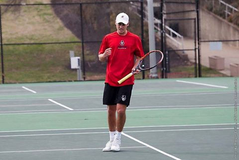 Austin Peay Men's Tennis loses Saturday to Jacksonville State 5-2 at the APSU Indoor Tennis Center. (APSU Sports Information)