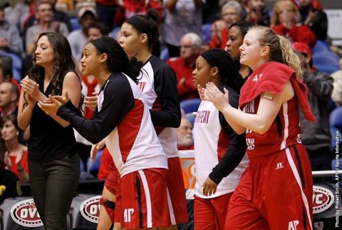 Austin Peay Women's Basketball gets first OVC Team Sportsmanship Award since the 2013-14 season. (APSU Sports Information)