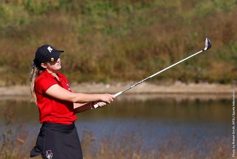Austin Peay Women's Golf sits in 13th heading into the final round of the Citrus Challenge on Tuesday. (APSU Sports Information)