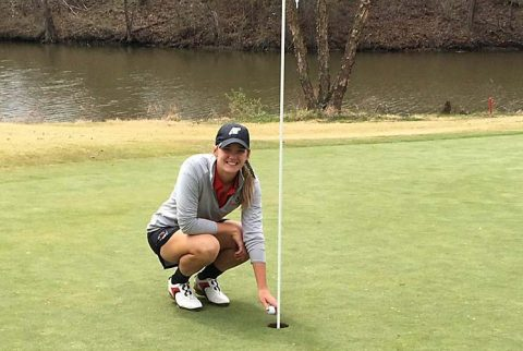 Austin Peay's Amber Bosworth has Hole-In-One at Southern Illinois' Saluki Invitational Sunday. (APSU Sports Information)