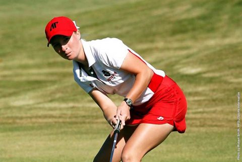 Austin Peay Women's Golf currently in fifth place at Eastern Kentucky's Colonel Classic. (APSU Sports Information)