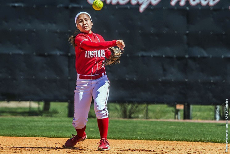 Austin Peay Softball beats Mississippi Valley 14-3 Sunday afternoon at Red & Blue Classic. (APSU Sports Information)