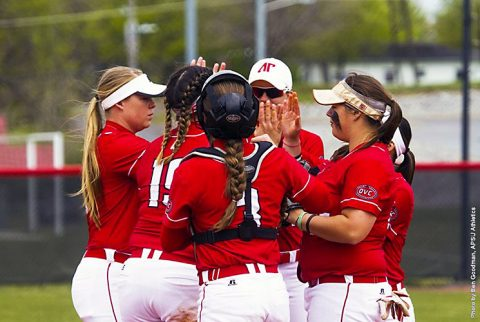 Austin Peay Softball plays doubleheader against Campbell at Cheryl Holt Field, Tuesday. (APSU Sports Information)