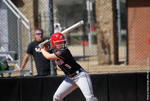 Austin Peay Softball loses to Lipscomb in eight innings, 7-7. (APSU Sports Information)