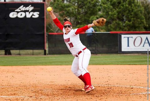 Austin Peay Softball splits doubleheader with Morehead State 7-1, 11-0 Friday at Cheryl Holt Field. (APSU Sports Information)