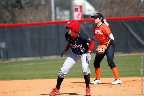 Austin Peay Softball drops two games to Eastern Kentucky at Cheryl Holt Field, Sunday. (APSU Sports Information)