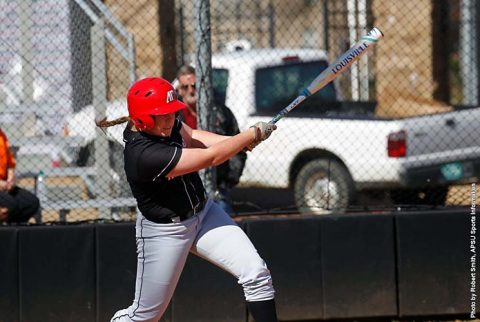 Austin Peay Softball scores four runs in the third to beat Memphis Tigers in Game 2 of their doubleheader, Wednesday. (APSU Sports Information)
