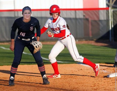 Austin Peay Softball this the road to take on Tennessee Tech Golden Eagles, Saturday. (APSU Sports Information)