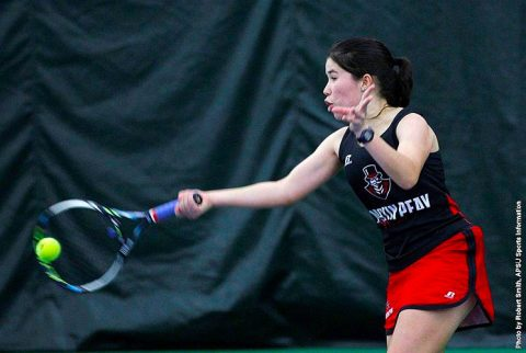 Austin Peay Women's Tennis loses Wednesday afternoon game to West Floriday. (APSU Sports Information)