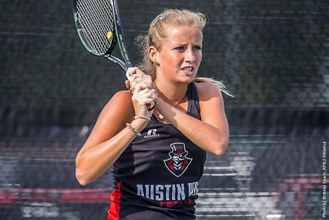 Austin Peay Women's Tennis slides past Belmont Saturday, starts OVC Season 2-0. (APSU Sports Information)