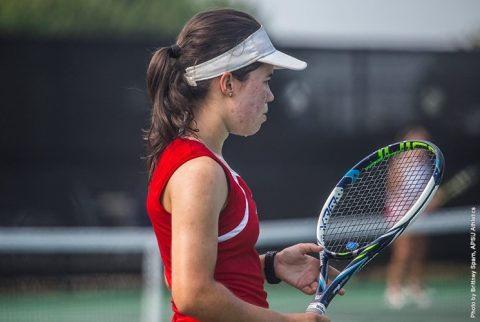 Austin Peay Women's Tennis falls to Southeast Missouri Friday. (APSU Sports Information)