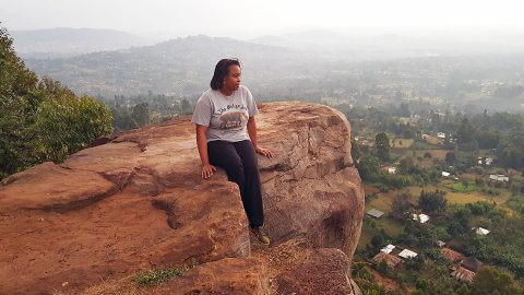 APSU's Dr. Christine Mathenge in Kisii, Kenya