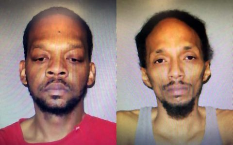 (L) Abdullah Hassan Powell and (R) Gerald Depaul Lovelace from Clarksville arrested for 2016 Murder of Donnie Cooksey in Cumberland City.