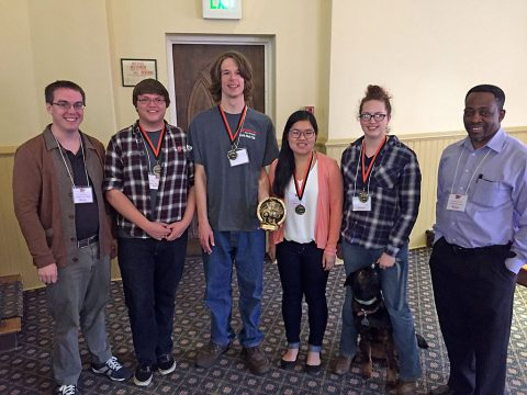 Team from Austin Peay wins regional Math Jeopardy Championship.