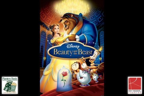 """Planters Bank Presents..."" film series to show Disney's ""Beauty and the Beast"" this Sunday at Roxy Regional Theatre."