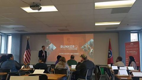 Bunker Labs gives Entrepreneurship Training course in Clarksville Tennessee.