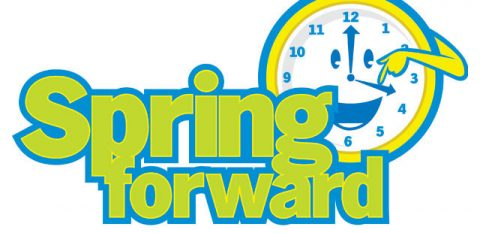 Sunday night, March 11th, move your clocks forward from 2:00am to 3:00am for Daylight Savings Time.