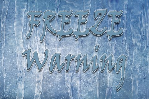 Clarksville-Montgomery County under Freeze Warning until early Saturday morning, March 11th, 2017.