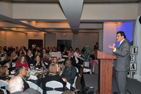 Former U.S. Attorney General Judge Alberto Gonzalez was keynote speaker for the event.