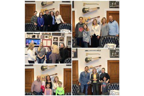 Marsha Blackburn Visits with Constituents on Spring Break