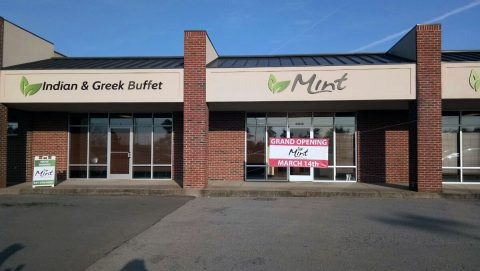 Mint Indian & Greek Buffet restaurant